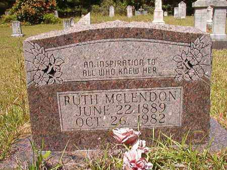 MCLENDON, RUTH - Columbia County, Arkansas | RUTH MCLENDON - Arkansas Gravestone Photos