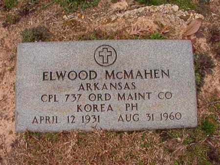 MCMAHEN (VETERAN KOR), ELWOOD - Columbia County, Arkansas   ELWOOD MCMAHEN (VETERAN KOR) - Arkansas Gravestone Photos