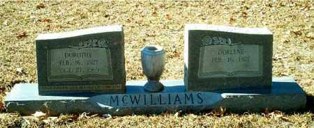 MCWILLIAMS, DOROTHY - Columbia County, Arkansas | DOROTHY MCWILLIAMS - Arkansas Gravestone Photos