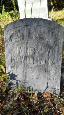 MCWILLIAMS, JAMES W - Columbia County, Arkansas | JAMES W MCWILLIAMS - Arkansas Gravestone Photos