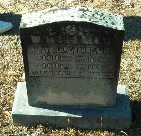 MCWILLIAMS, MAY - Columbia County, Arkansas | MAY MCWILLIAMS - Arkansas Gravestone Photos