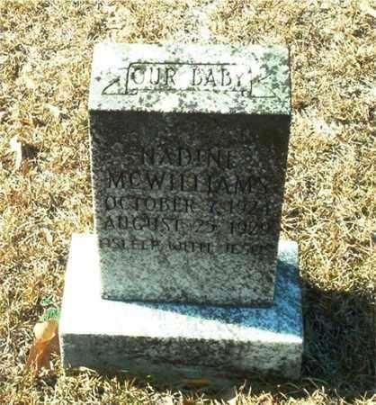 MCWILLIAMS, NADINE - Columbia County, Arkansas | NADINE MCWILLIAMS - Arkansas Gravestone Photos