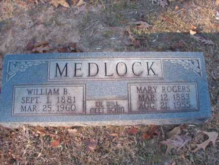 ROGERS MEDLOCK, MARY - Columbia County, Arkansas | MARY ROGERS MEDLOCK - Arkansas Gravestone Photos