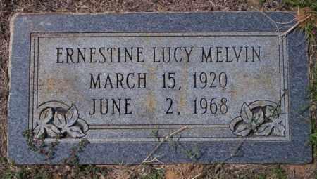 MELVIN, ERNESTINE LUCY - Columbia County, Arkansas | ERNESTINE LUCY MELVIN - Arkansas Gravestone Photos