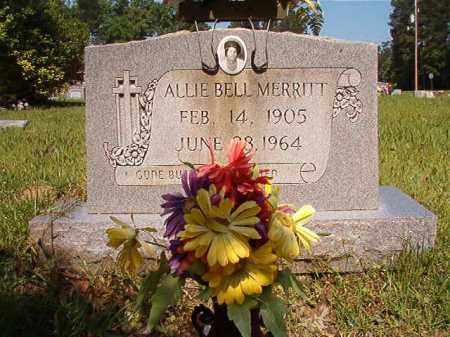 MERRITT, ALLIE BELL - Columbia County, Arkansas | ALLIE BELL MERRITT - Arkansas Gravestone Photos