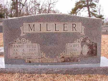 MILLER, FANNIE RUTH - Columbia County, Arkansas | FANNIE RUTH MILLER - Arkansas Gravestone Photos