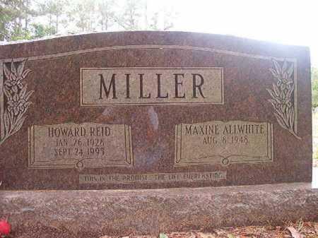 MILLER, HOWARD REID - Columbia County, Arkansas   HOWARD REID MILLER - Arkansas Gravestone Photos