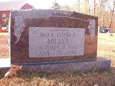 MILLER, MARK DONALD - Columbia County, Arkansas | MARK DONALD MILLER - Arkansas Gravestone Photos