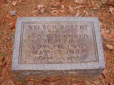 MILLER, NELSON ROBERT - Columbia County, Arkansas   NELSON ROBERT MILLER - Arkansas Gravestone Photos