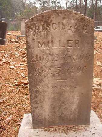 MILLER, PRISCILLA E - Columbia County, Arkansas   PRISCILLA E MILLER - Arkansas Gravestone Photos