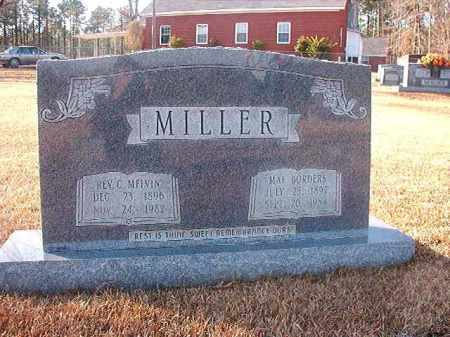 MILLER, REV, C MELVIN - Columbia County, Arkansas | C MELVIN MILLER, REV - Arkansas Gravestone Photos