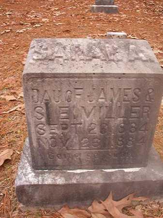 MILLER, SARAH A - Columbia County, Arkansas | SARAH A MILLER - Arkansas Gravestone Photos