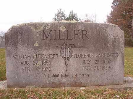 MILLER, FLORENCE - Columbia County, Arkansas | FLORENCE MILLER - Arkansas Gravestone Photos