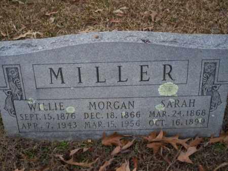 MILLER, WILLIE - Columbia County, Arkansas | WILLIE MILLER - Arkansas Gravestone Photos