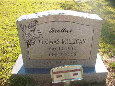 MILLICAN, THOMAS - Columbia County, Arkansas | THOMAS MILLICAN - Arkansas Gravestone Photos
