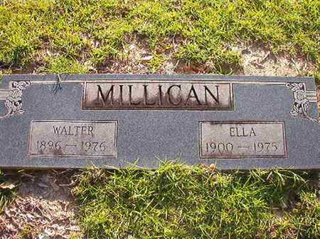 MILLICAN, ELLA - Columbia County, Arkansas | ELLA MILLICAN - Arkansas Gravestone Photos