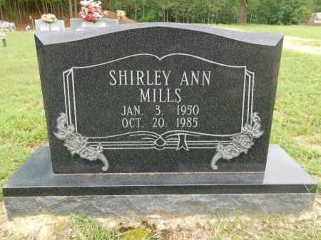 MILLS, SHIRLEY ANN - Columbia County, Arkansas | SHIRLEY ANN MILLS - Arkansas Gravestone Photos