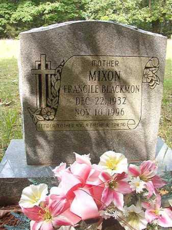 BLACKMON MIXON, FRANCILE - Columbia County, Arkansas | FRANCILE BLACKMON MIXON - Arkansas Gravestone Photos