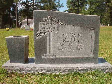 MODICA, MELISSA M - Columbia County, Arkansas | MELISSA M MODICA - Arkansas Gravestone Photos