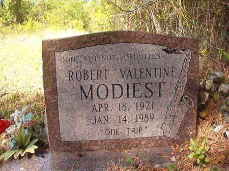 MODIEST, ROBERT VALENTINE - Columbia County, Arkansas | ROBERT VALENTINE MODIEST - Arkansas Gravestone Photos