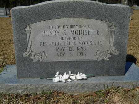 MODISETTE, HENRY S - Columbia County, Arkansas | HENRY S MODISETTE - Arkansas Gravestone Photos