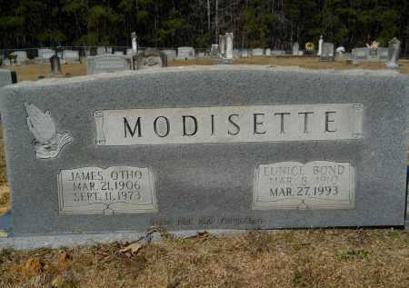 BOND MODISETTE, EUNICE - Columbia County, Arkansas | EUNICE BOND MODISETTE - Arkansas Gravestone Photos