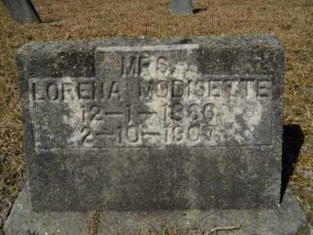 MODISETTE, LORENA - Columbia County, Arkansas | LORENA MODISETTE - Arkansas Gravestone Photos