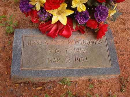 MONTGOMERY, JESSE AUBREY - Columbia County, Arkansas | JESSE AUBREY MONTGOMERY - Arkansas Gravestone Photos