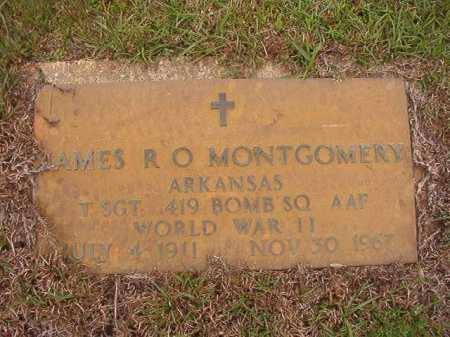 MONTGOMERY (VETERAN WWII), JAMES R O - Columbia County, Arkansas   JAMES R O MONTGOMERY (VETERAN WWII) - Arkansas Gravestone Photos