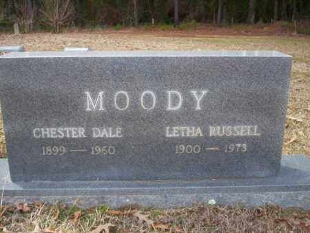 RUSSELL MOODY, LETHA - Columbia County, Arkansas | LETHA RUSSELL MOODY - Arkansas Gravestone Photos