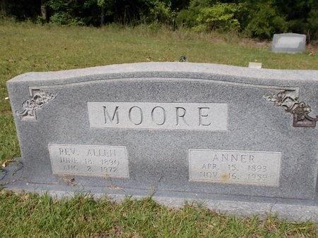 MOORE, ANNER - Columbia County, Arkansas | ANNER MOORE - Arkansas Gravestone Photos