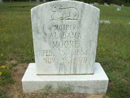 MOORE, ALABAMA - Columbia County, Arkansas | ALABAMA MOORE - Arkansas Gravestone Photos