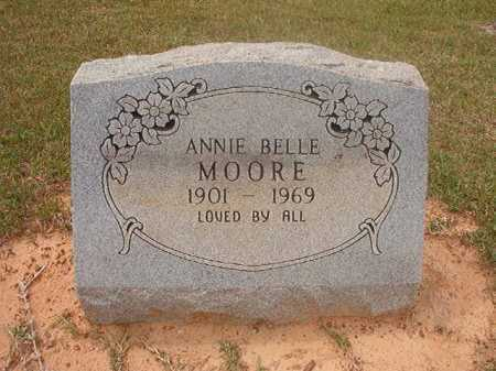 MOORE, ANNIE BELLE - Columbia County, Arkansas | ANNIE BELLE MOORE - Arkansas Gravestone Photos