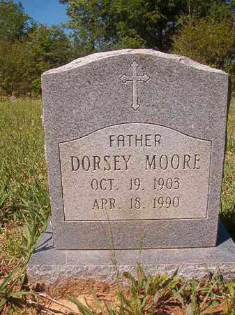 MOORE, DORSEY - Columbia County, Arkansas | DORSEY MOORE - Arkansas Gravestone Photos