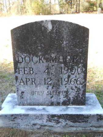 MOORE, DOCK - Columbia County, Arkansas | DOCK MOORE - Arkansas Gravestone Photos
