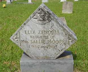 MOORE, ELLA ZENOBIA - Columbia County, Arkansas | ELLA ZENOBIA MOORE - Arkansas Gravestone Photos