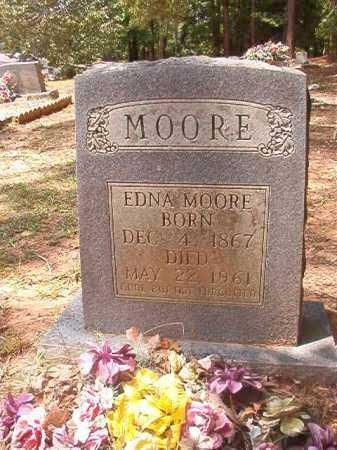 MOORE, EDNA - Columbia County, Arkansas   EDNA MOORE - Arkansas Gravestone Photos