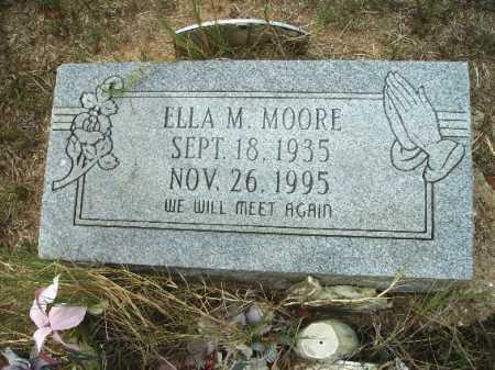 MOORE, ELLA M - Columbia County, Arkansas | ELLA M MOORE - Arkansas Gravestone Photos