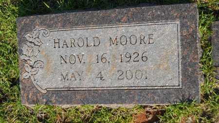 MOORE, FINIS HAROLD - Columbia County, Arkansas | FINIS HAROLD MOORE - Arkansas Gravestone Photos