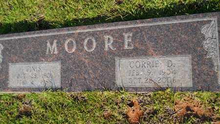 MOORE, FINIS HOWARD - Columbia County, Arkansas | FINIS HOWARD MOORE - Arkansas Gravestone Photos