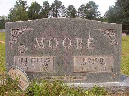 MOORE, FRED DOUGLAS - Columbia County, Arkansas | FRED DOUGLAS MOORE - Arkansas Gravestone Photos