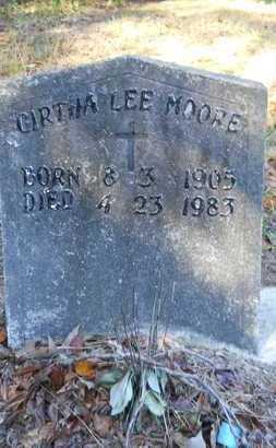 MOORE, GIRTHA LEE - Columbia County, Arkansas | GIRTHA LEE MOORE - Arkansas Gravestone Photos