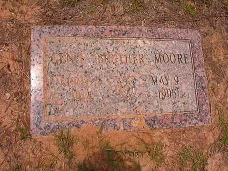 MOORE, GENIE - Columbia County, Arkansas | GENIE MOORE - Arkansas Gravestone Photos
