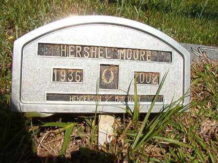 MOORE, HERSHEL - Columbia County, Arkansas | HERSHEL MOORE - Arkansas Gravestone Photos