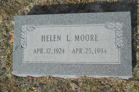 MOORE, HELEN L - Columbia County, Arkansas | HELEN L MOORE - Arkansas Gravestone Photos
