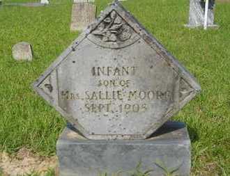 MOORE, INFANT - Columbia County, Arkansas | INFANT MOORE - Arkansas Gravestone Photos