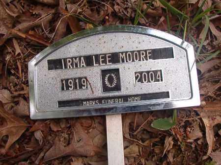 MOORE, IRMA LEE - Columbia County, Arkansas | IRMA LEE MOORE - Arkansas Gravestone Photos