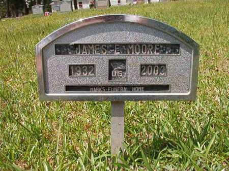 MOORE, JAMES E - Columbia County, Arkansas | JAMES E MOORE - Arkansas Gravestone Photos