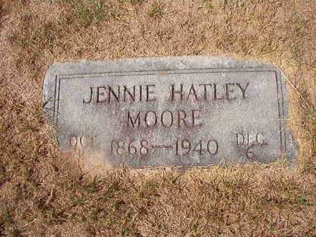 MOORE, JENNIE - Columbia County, Arkansas   JENNIE MOORE - Arkansas Gravestone Photos