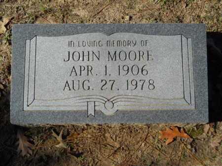 MOORE, JOHN - Columbia County, Arkansas | JOHN MOORE - Arkansas Gravestone Photos